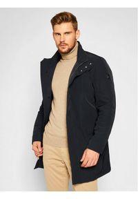 Niebieski płaszcz przejściowy Strellson