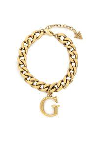 Złota bransoletka Guess złota