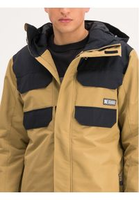 Beżowa kurtka sportowa DC snowboardowa