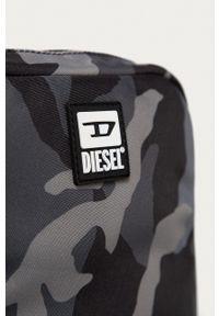 Diesel - Saszetka. Kolor: szary