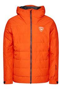 Pomarańczowa kurtka sportowa Rossignol narciarska