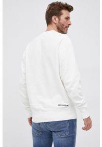Drykorn - Bluza bawełniana Felix. Okazja: na co dzień. Kolor: biały. Materiał: bawełna. Styl: casual