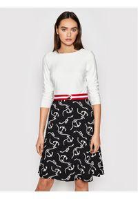 Sukienka Lauren Ralph Lauren casualowa, na co dzień, w kolorowe wzory, prosta