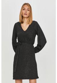 Czarna sukienka Vero Moda mini, na co dzień