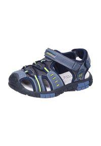 Niebieskie sandały American Club sportowe