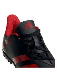 Adidas - Buty piłkarskie turfy dla dzieci adidas Predator 20.4 TF EF1956. Okazja: na imprezę. Materiał: syntetyk. Szerokość cholewki: normalna. Wzór: nadruk. Sezon: lato. Sport: piłka nożna