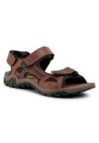 Brązowe sandały Salamander na co dzień, casualowe, na lato