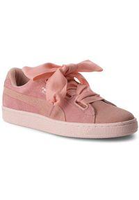 Różowe buty sportowe Puma Puma Suede