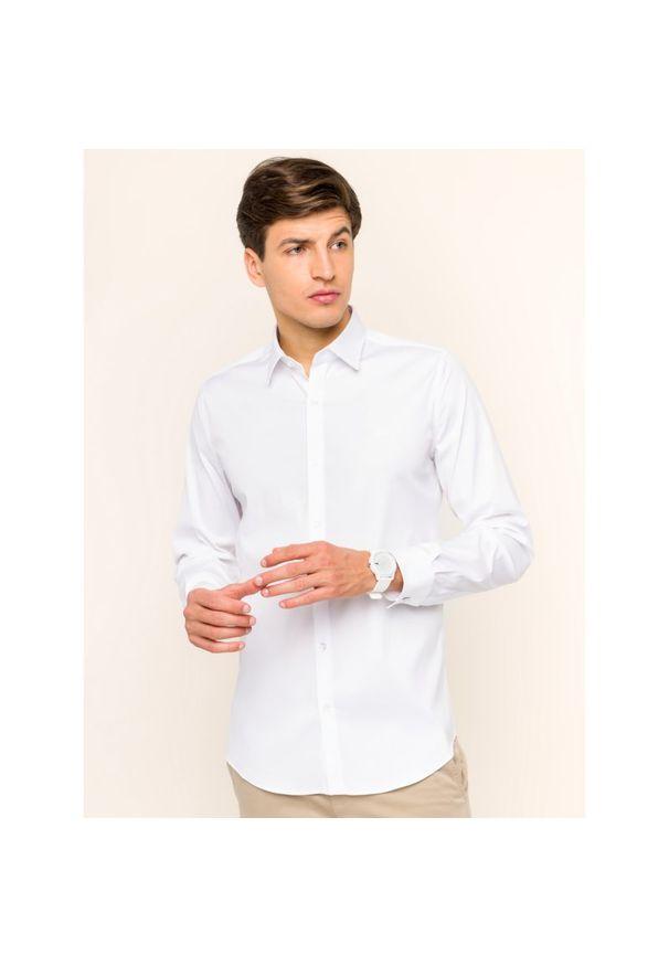Biała koszula Lacoste