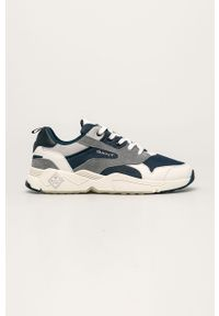 Niebieskie sneakersy GANT z cholewką, na sznurówki