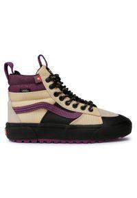 Vans - Sneakersy VANS - Sk8-Hi Mte 2.0 Dx VN0A4P3I23T1 (Mte) Reflectivbrazlansand. Kolor: beżowy. Materiał: skóra, materiał. Szerokość cholewki: normalna. Styl: klasyczny, elegancki. Model: Vans SK8