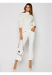 Białe spodnie materiałowe iBlues