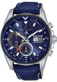 Zegarek Pulsar Zegarek Pulsar Solar męski chronograf PZ6031X1 uniwersalny
