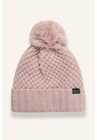 Różowa czapka Jack Wolfskin