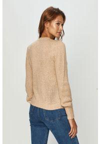 Sweter Jacqueline de Yong długi, casualowy, na co dzień, z długim rękawem