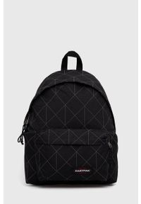 Eastpak - Plecak. Kolor: czarny. Materiał: włókno. Wzór: aplikacja