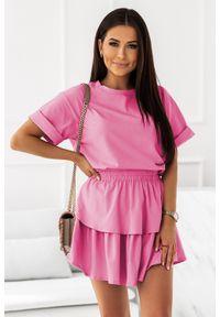 Różowa bluzka IVON