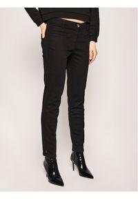 Czarne jeansy slim Laurèl