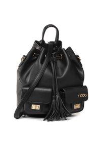 Czarna torebka worek Nobo klasyczna