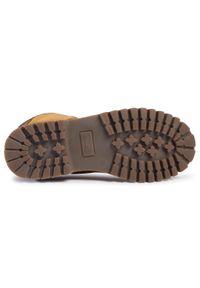 Brązowe buty zimowe Kamik z cholewką