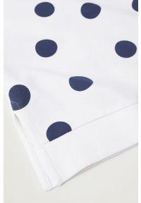 Biała bluza Mango Kids na co dzień, bez kaptura