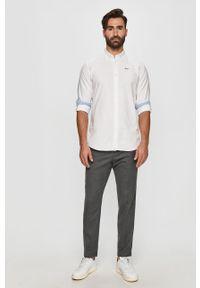 Biała koszula Pepe Jeans długa, button down
