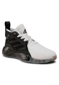 Czarne półbuty Adidas z cholewką, na co dzień