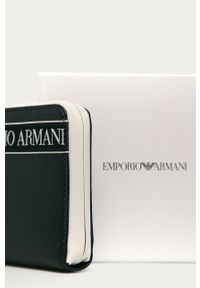 Niebieski portfel Emporio Armani