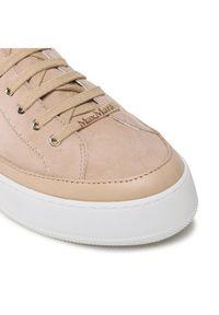 Beżowe sneakersy Max Mara