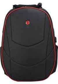 """Plecak BESTLIFE PLECAK NA 17"""" NOTEBOOK ASSAILANT GAMING USB CZERWONY BB-3331R. Kolor: czerwony"""