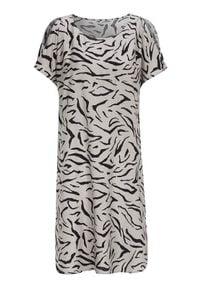 Cellbes Sukienka we wzory beżowy we wzory female beżowy/ze wzorem 34/36. Kolor: beżowy. Materiał: tkanina. Sezon: lato