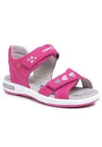 Różowe sandały Superfit na lato