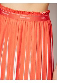 Pomarańczowa spódnica Calvin Klein