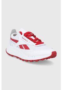 Reebok Classic - Buty CL Legacy. Zapięcie: sznurówki. Kolor: biały. Materiał: guma. Model: Reebok Classic