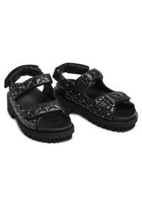 Czarne sandały Stokton