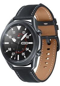 SAMSUNG - Smartwatch Samsung Galaxy Watch 3 Mystic Black 45mm LTE Czarny (SM-R845FZKAEUD). Rodzaj zegarka: smartwatch. Kolor: czarny