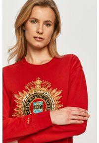 Czerwona bluza Polo Ralph Lauren polo, casualowa