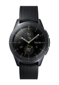 Czarny zegarek SAMSUNG smartwatch, klasyczny