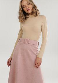 Różowa spódnica Born2be