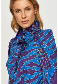 Niebieska koszula Love Moschino casualowa, na co dzień, długa