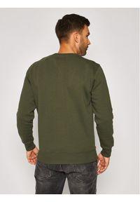 Alpha Industries Bluza Basic 188307 Zielony Regular Fit. Kolor: zielony