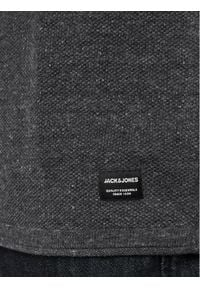 Jack & Jones - Jack&Jones Sweter Hill 12157321 Szary Regular Fit. Kolor: szary