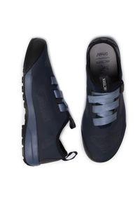 Niebieskie buty trekkingowe Arc'teryx trekkingowe, z cholewką