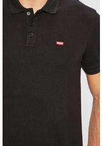 Czarna koszulka polo Levi's® biznesowa, na spotkanie biznesowe
