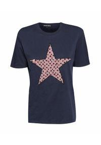 Niebieski t-shirt Markus Lupfer