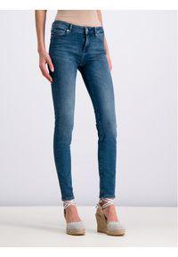 Niebieskie jeansy slim Love Moschino