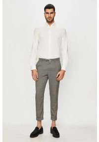 Biała koszula Selected z długim rękawem, button down, elegancka