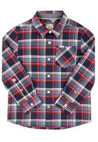 Pepe Jeans Koszula Lamar PB301821 Granatowy Regular Fit. Kolor: niebieski