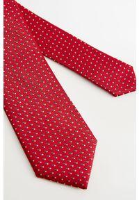 Czerwony krawat Mango Man