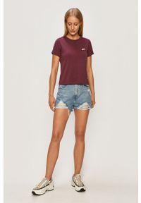 TALLY WEIJL - Tally Weijl - Szorty jeansowe. Okazja: na co dzień. Kolor: niebieski. Materiał: jeans. Styl: casual